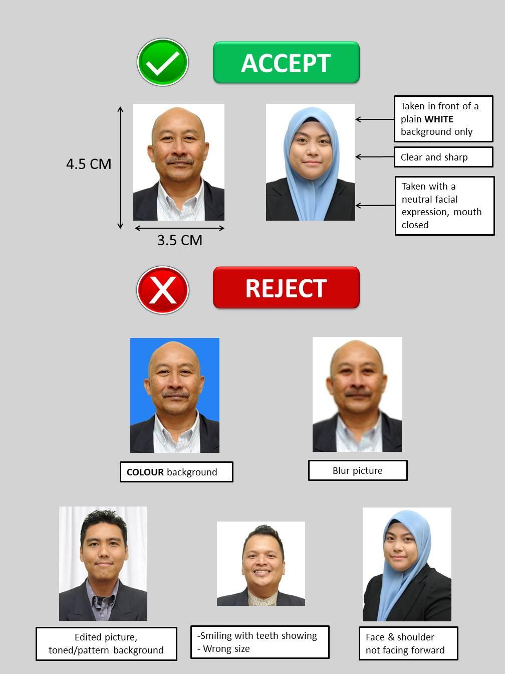 Passport Photo Guide Putra International Centre I Putra